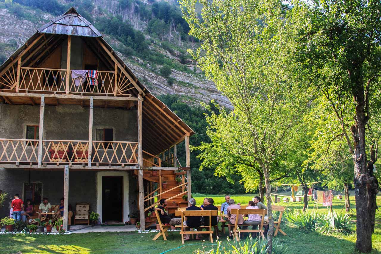 Family-run guesthouse Kol Gjoni, Valbona