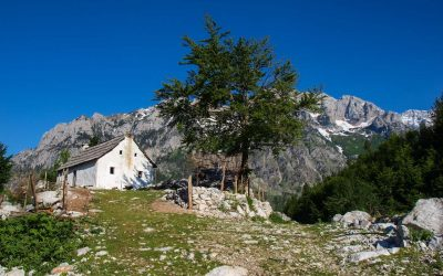 Picturesque house in Kukaj, Valbona valley