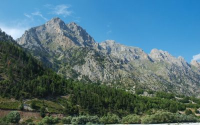 Views to the Kollata massif from Valbona's center