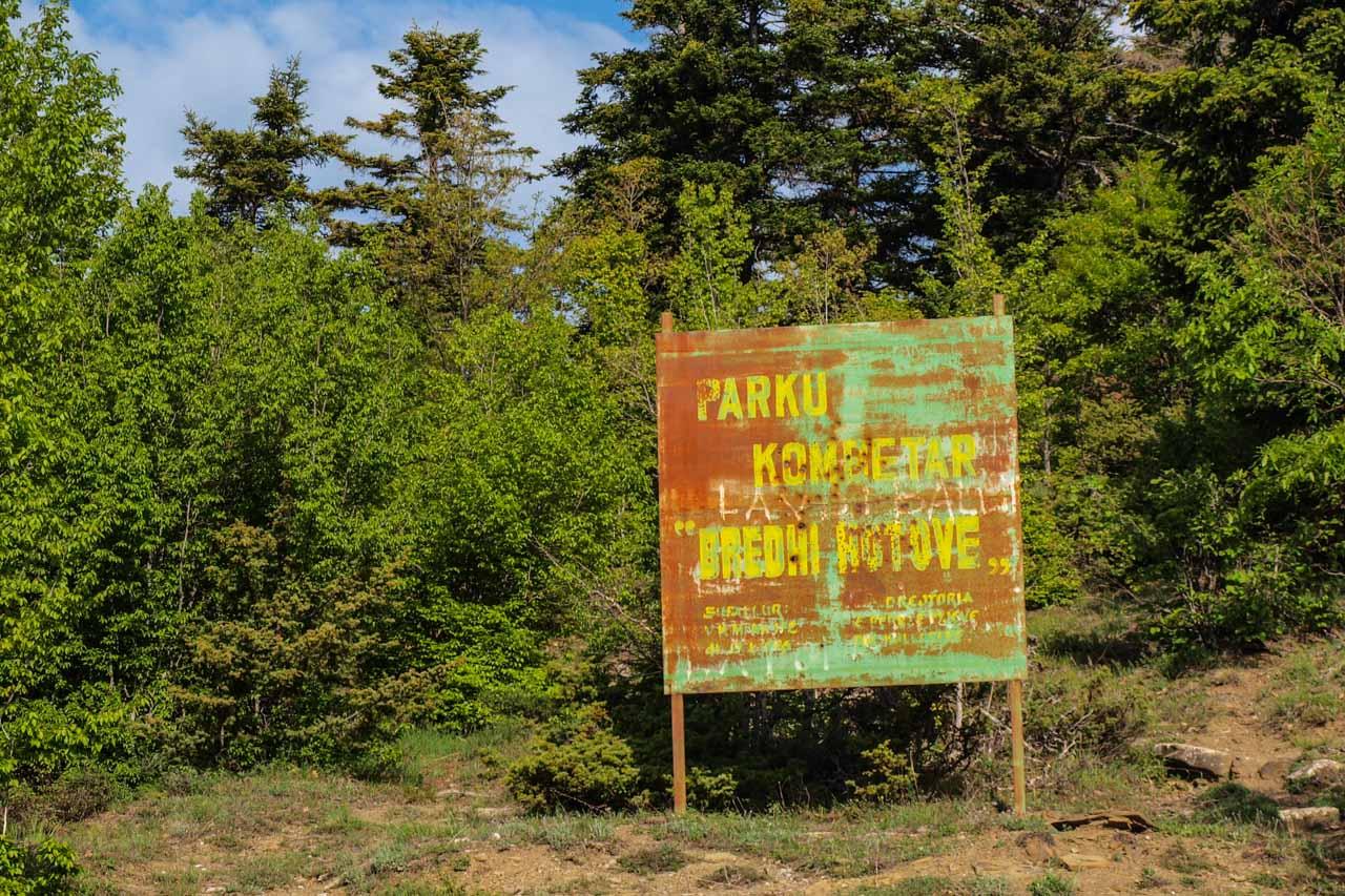 Bredhi i Hotoves National Park