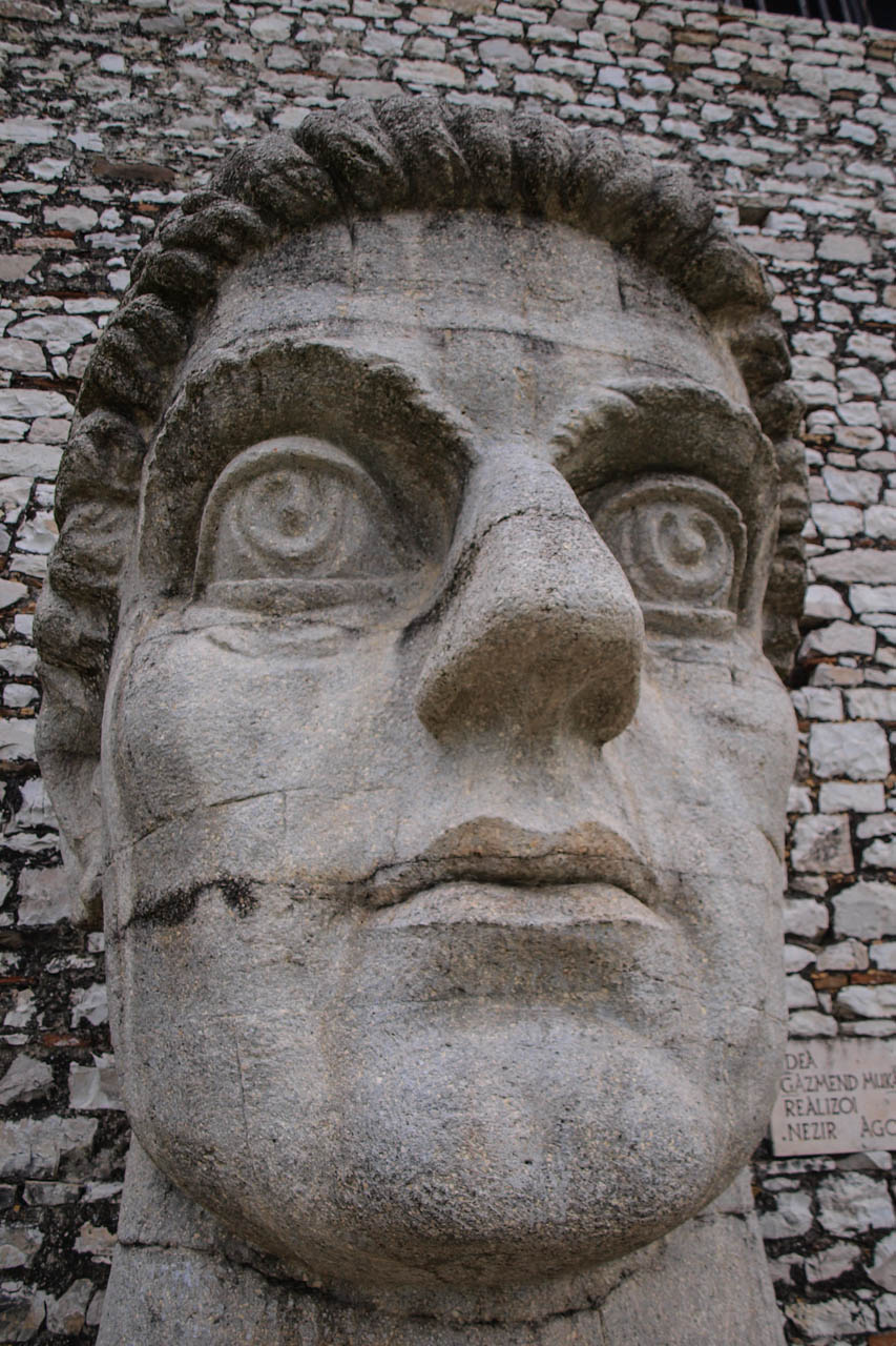 Bust of Constantine the Great, Berat
