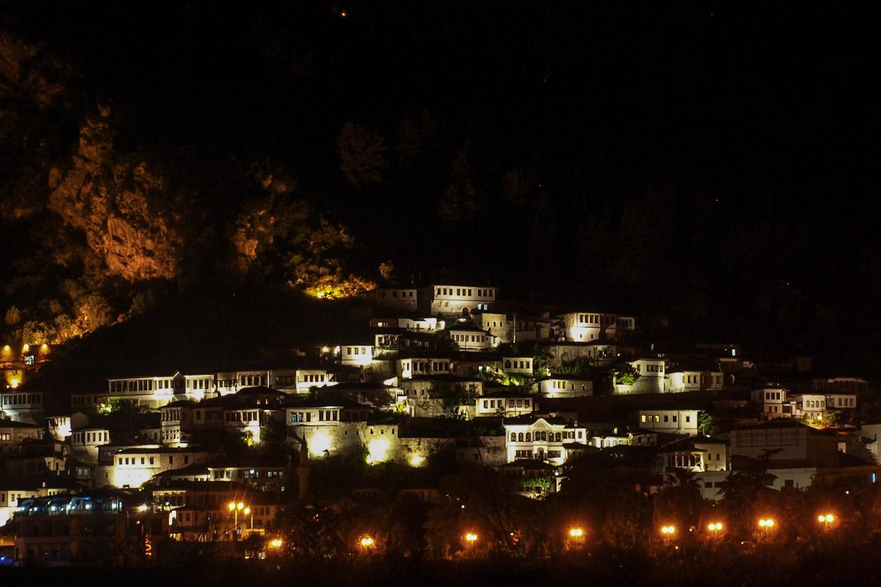 Berat at night