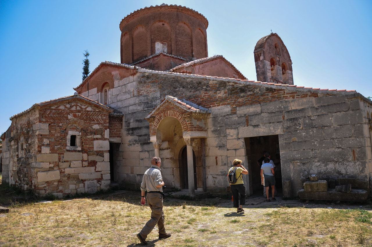 St. Mary's church and museum, Apollonia