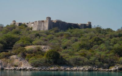 Ali Pasha Fortress between Himare and Qeparo