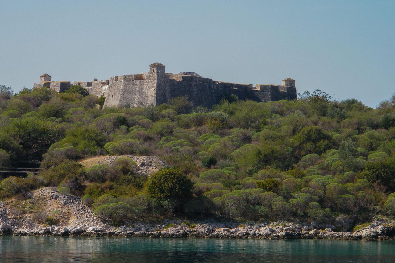Ali Pasha Fortress between Himare and Qeparo