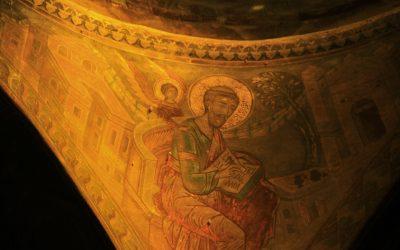 Fresco detail, Goranxi monastery
