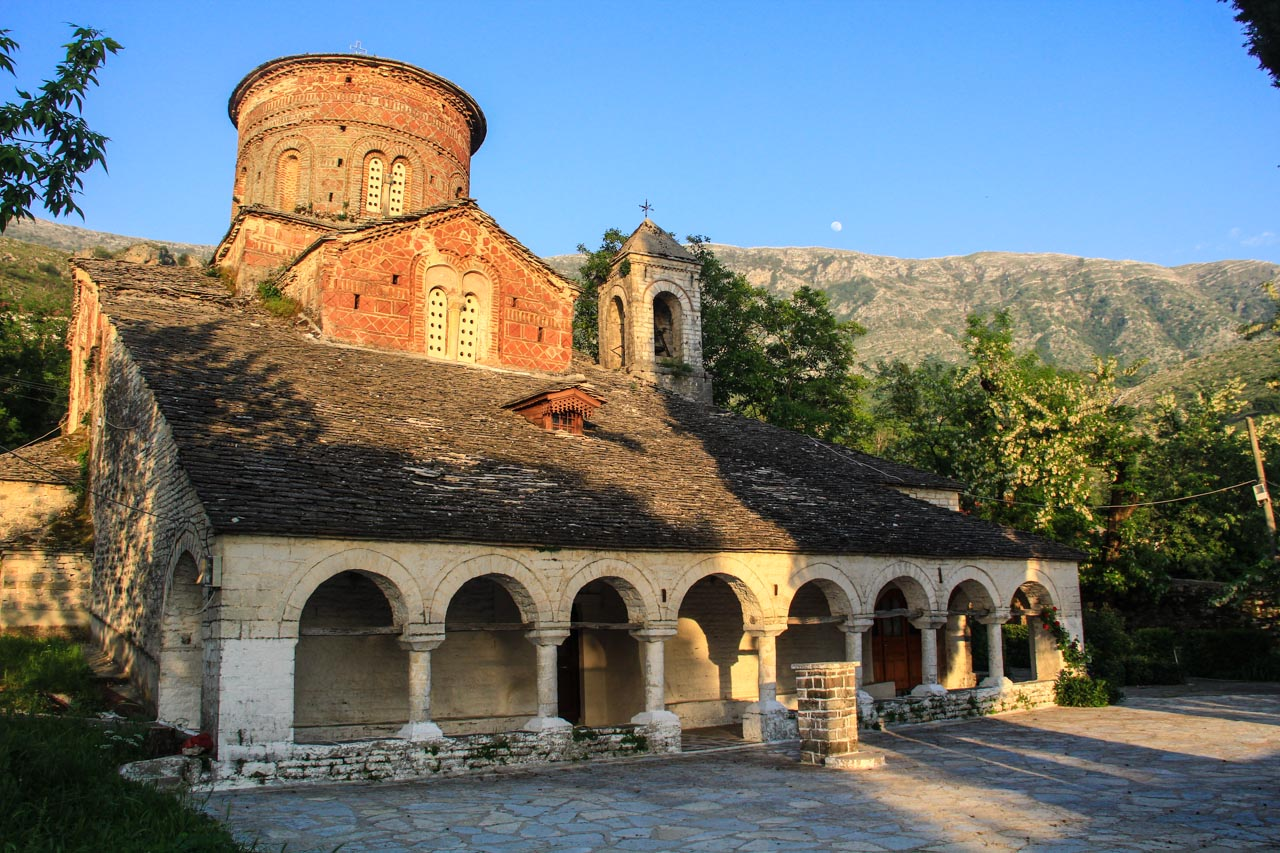 St. Mary's church, Labova  e Kryqit, built in 6th century, even though the oldest elements that remain still today are from 10th century