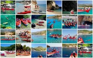 Kayaking in Albania with Zbulo!