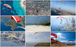 Paragliding in Albania with Zbulo!